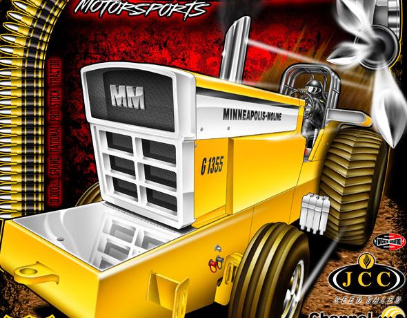 Custom Tractor Pulling T Shirts 2018 : Wicked grafixx custom drag racing t shirts crew