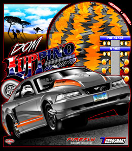 Dom Luppino Australia Outlaw 10.5 Turbo Mustang Drag Racing Shirts