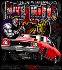 Mike Madus Outlaw 10.5 Drag Racing T Shirts