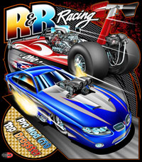 NEW!! R & R Top Dragster and Pro Modified Drag Racing T Shirts