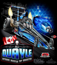 NEW!! Mike Quayle Top Dragster Drag Racing T Shirts