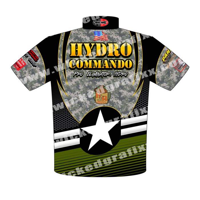 Drag Race Shirts Racing Team Pit Crew Shirts