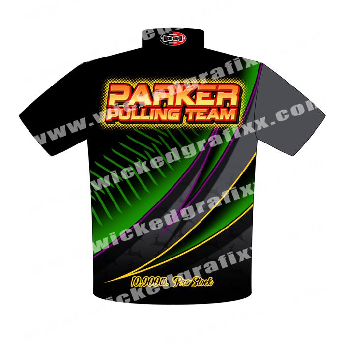 Custom Tractor Pulling T Shirts 2018 : Wicked grafixx custom drag racing crew team shirts apparel
