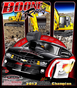 NEW!! Boone Racing Outlaw Pro Modified 2012 Camaro Drag Racing T Shirts