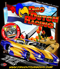 NEW !! J Roosten Pro Dutch Racing 5 Second Camaro Pro Mod Drag Racing T Shirts Custom Theme