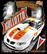 NEW !! Sam Gullotto Perth Australia GTO Pro Modified Drag Racing T Shirts