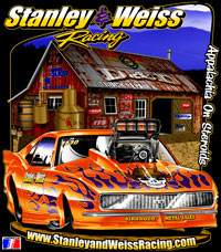 Stanley & Weiss Racing Supercharged ADRL Pro Extreme Pro Mod Drag Racing T Shirts