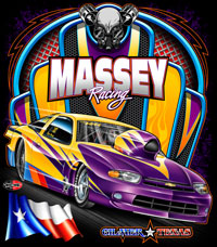NEW!! Massey Racing Pro Modified Cavalier Drag Racing T Shirts