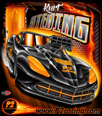 NEW !! Kurt Steding Supercharged C7 Corvette Pro Modified Pro Boost Drag Racing T Shirts