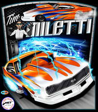 NEW !! Tim Miletti Pro Modified Camaro Drag Racing T Shirts