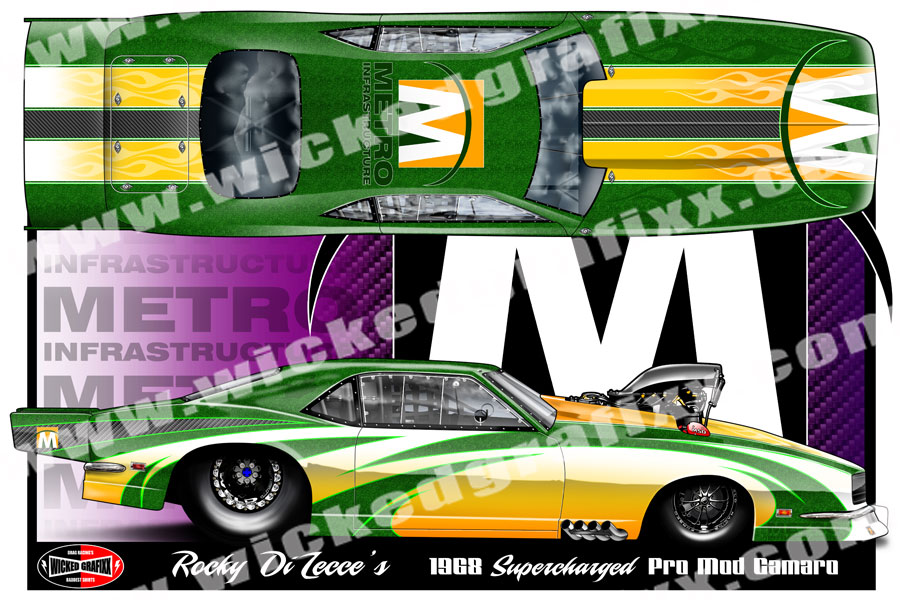 Custom Race Car Renderings Vinyl Race Car Wraps