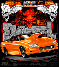 Chris Daniels Limited Street Camaro Drag Racing T Shirts