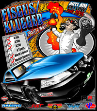 NEW!! Fiscus - Klugger Outlaw Drag Radial Drag Racing T Shirts