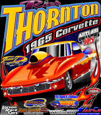 Rick Thornton Nitrous Outlaw 10.5 Drag Racing T Shirts