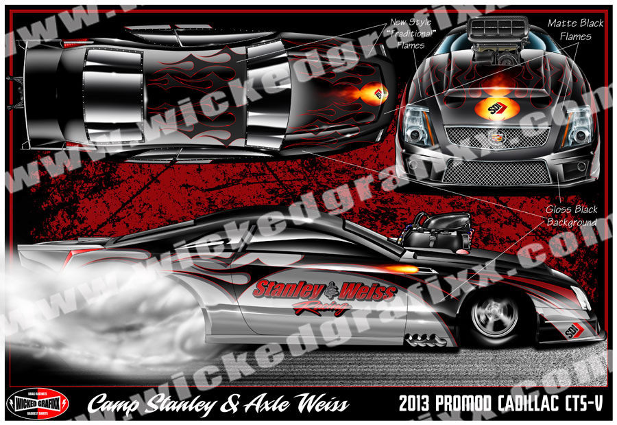 Custom Race Car Renderings | Vinyl Race Car Wraps