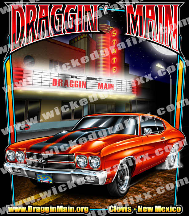 Wicked Grafixx Theme Based Custom Drag Racing T Shirts